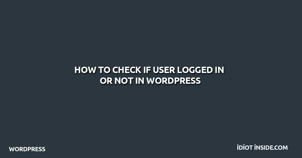 check-if-user-logged-in-or-not