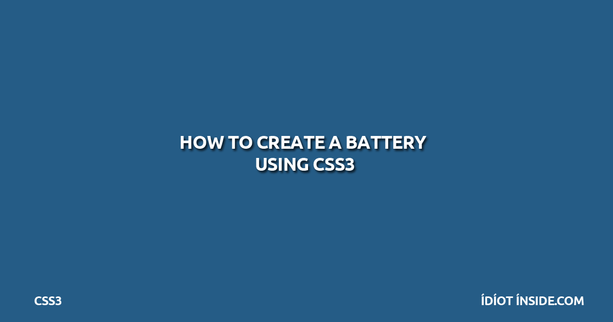 create-battery-using-css3
