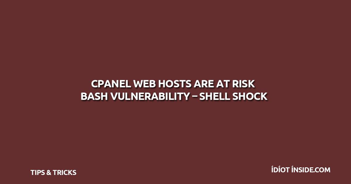 cpanel-bash-shellshock-vulnerability