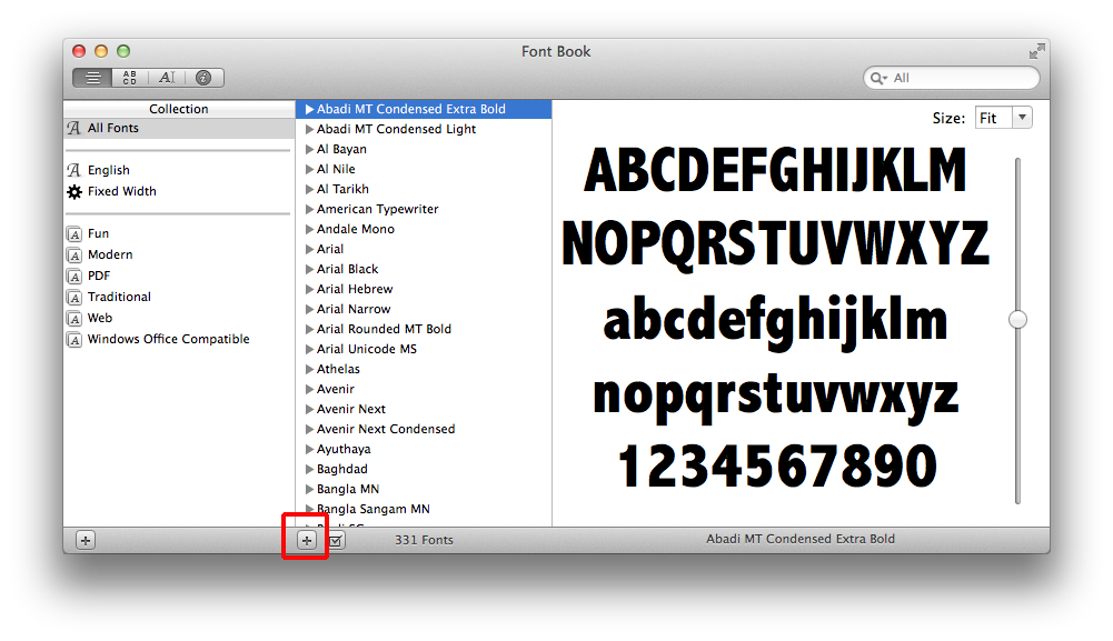 How to install fonts in Mac - IdiotInside com