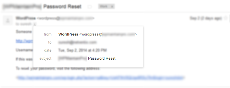 forgot-password-email-wordpress