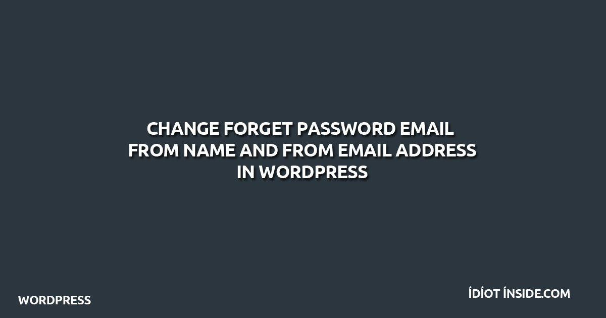 forgot-password-wordpress