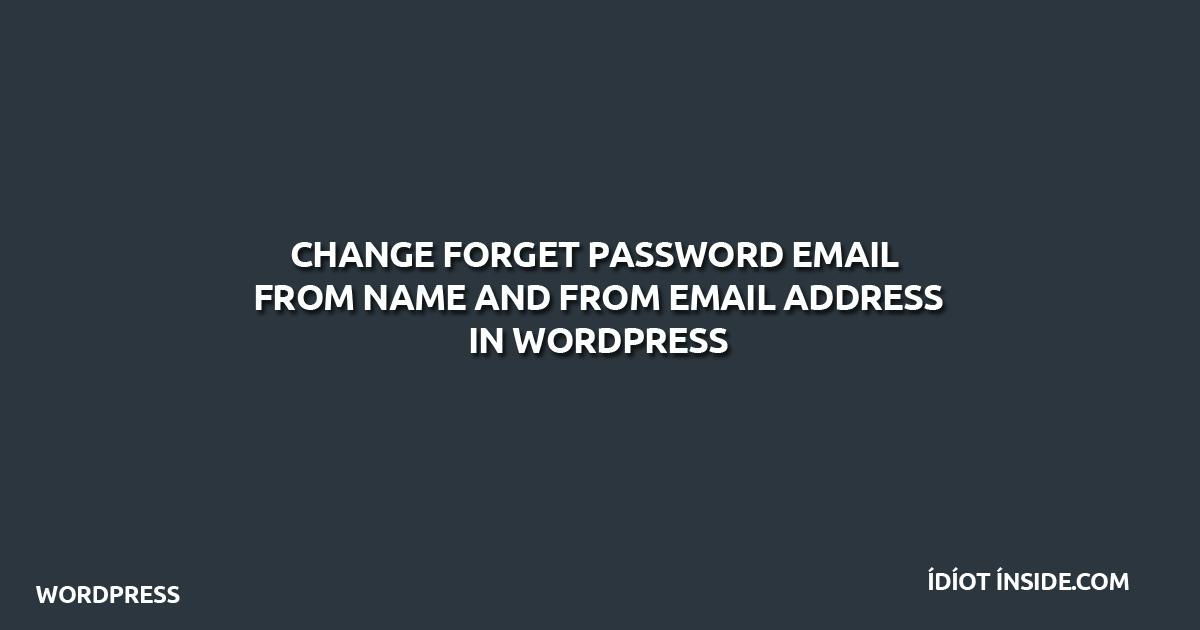 forgot-password-wordpress