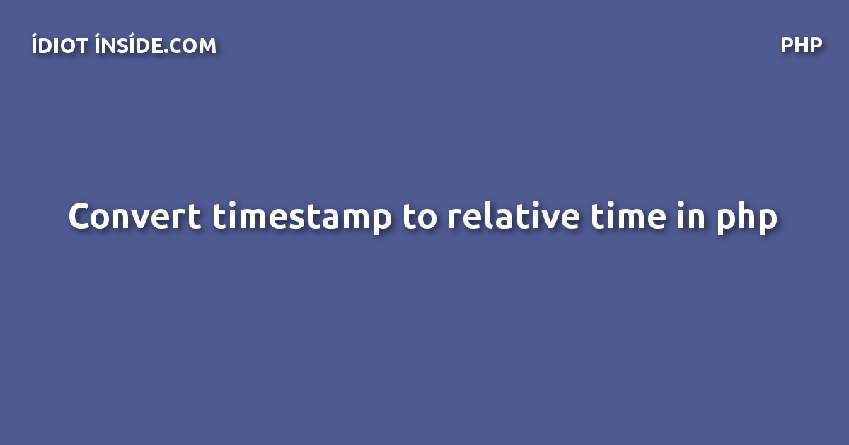 relative-time-php
