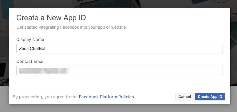 Create your first facebook messenger bot using flask & AWS